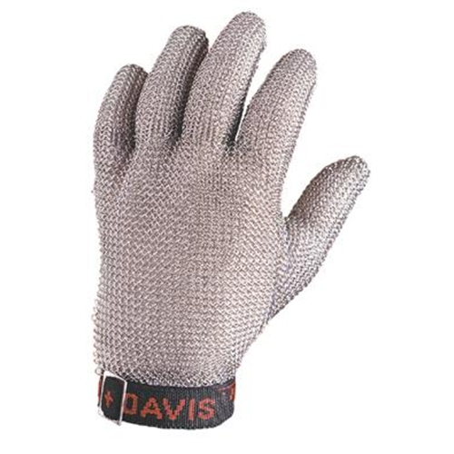 Stainless Steel Mesh Safety Glove Size Medium